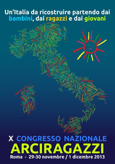 Poster X Congresso Nazionale Arciragazzi