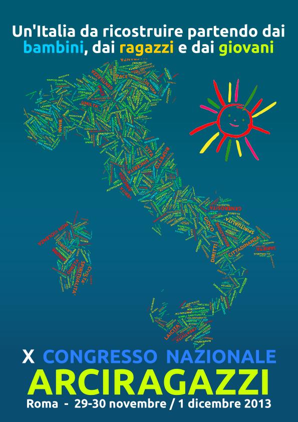 Poster X Congresso Arciragazzi