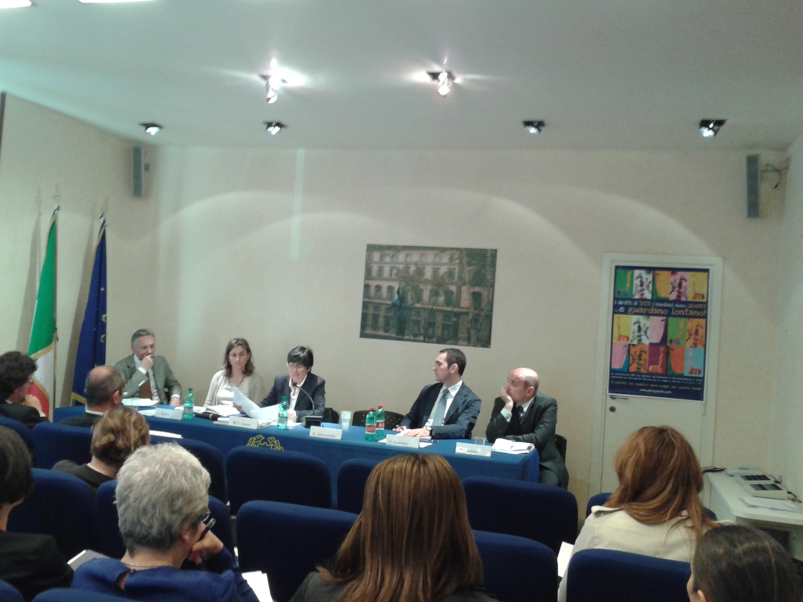 """Conferenza """"Gruppo CRC"""" del 6 Giugno 2013"""