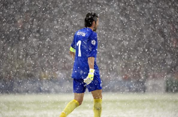 "Neve ""a catinelle"" beffa per la Juve"