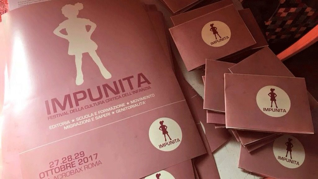 Impunita Fest: dal 27 al 29 ottobre il Festival della Cultura critica dell'Infanzia